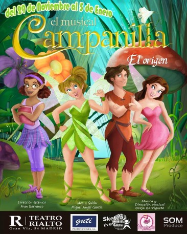 CAMPANILLA EL MUSICAL, EL ORIGEN en el Teatro Rialto