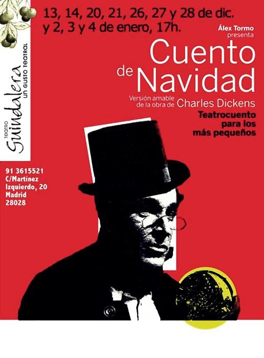 Cuento de navidad en el teatro guindalera madrid es teatro - Cuentos de navidad para ninos pequenos ...