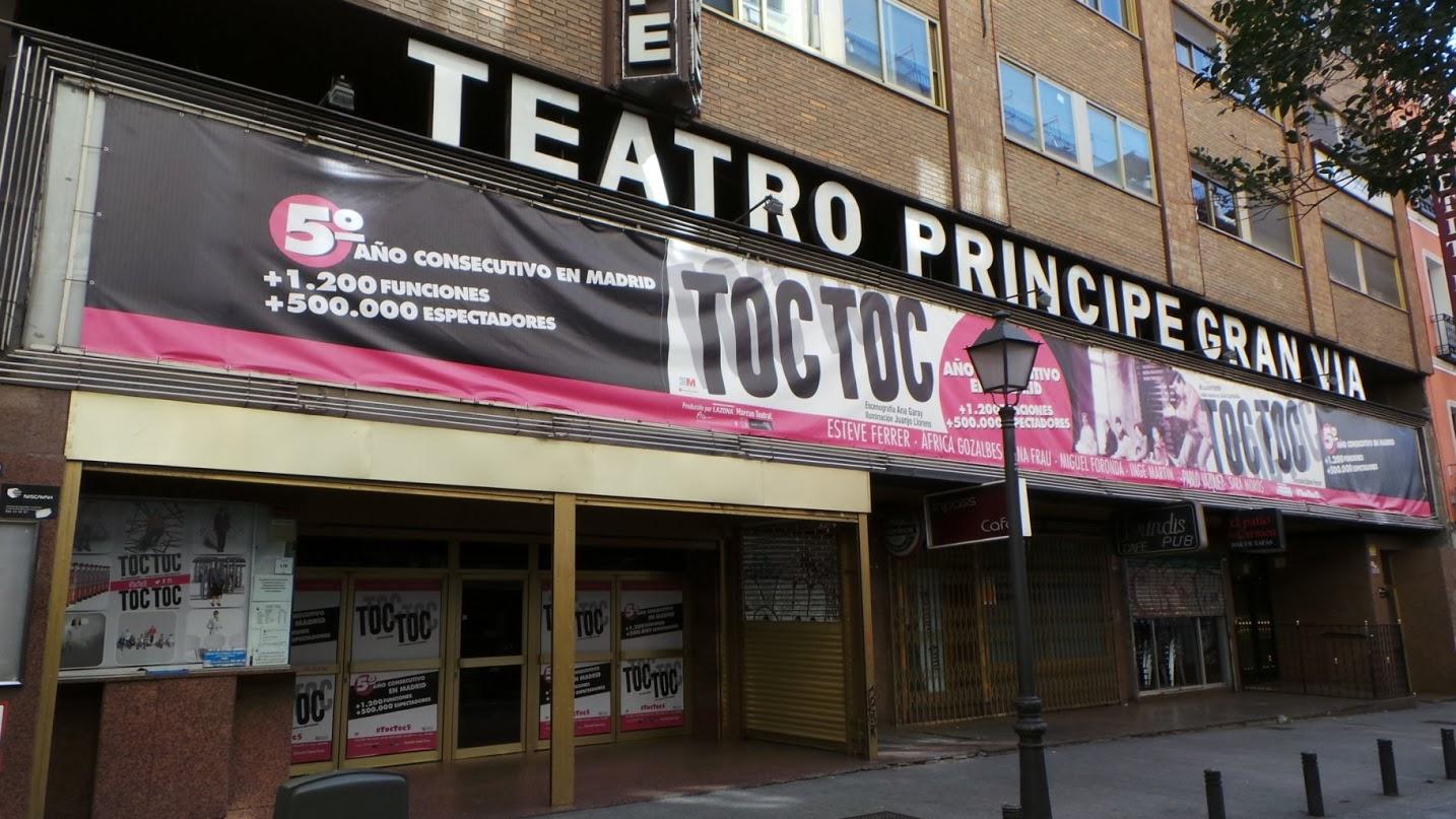 Teatro principe gran via madrid es teatro Teatro principe gran via