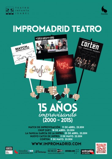 15 AÑOS IMPROVISANDO, Teatro Infanta Isabel