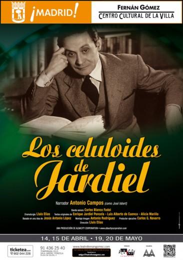 LOS CELULOIDES DE JARDIEL en el Teatro Fernán Gómez
