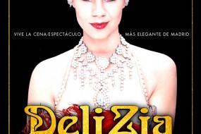 DELIZIA LUXURY DINNER-SHOW en el Teatro Bodevil