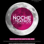NOCHE DE LOS TEATROS 2015