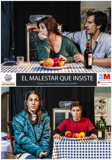 EL MALESTAR QUE INSISTE en los Teatros Luchana