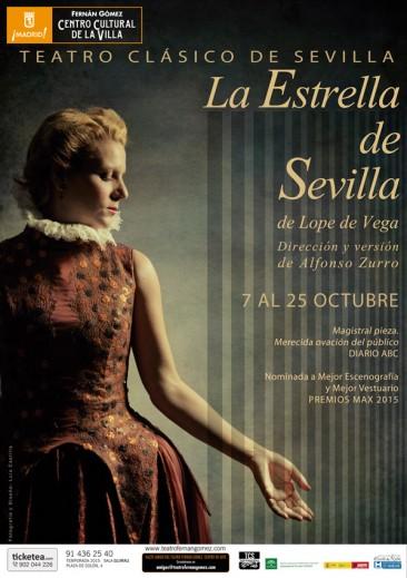 LA ESTRELLA DE SEVILLA, en el Teatro Fernán Gómez