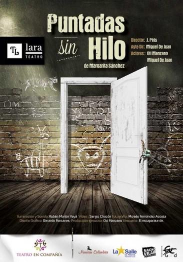 PUNTADAS SIN HILO en el Teatro Lara