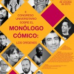 II Congreso universitario sobre el monólogo cómico: los orígenes