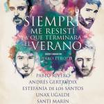 SIEMPRE ME RESISTÍ A QUE TERMINARA EL VERANO en el Teatro Marquina