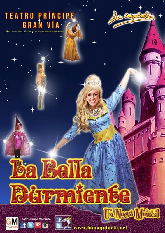 La bella durmiente un nuevo musical en elteatro pr ncipe Teatro principe gran via