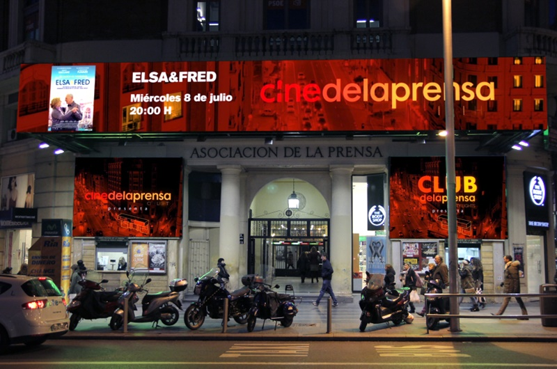Cine De La Prensa Madrid Es Teatro