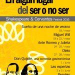 FESTIVAL SHAKESPEARE SER O NO SER en el Teatro Galileo