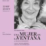 UNA MUJER EN LA VENTANA en el Teatro Español
