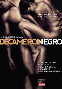 CARTEL DECAMERÓN NEGRO