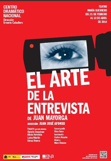 El arte de la entrevista. Teatro María Guerrero