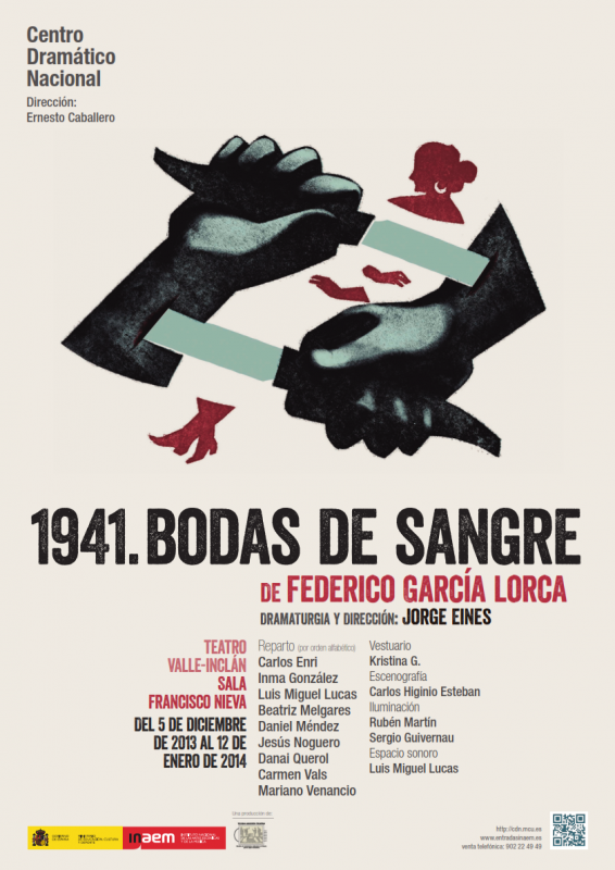1941. Bodas de sangre