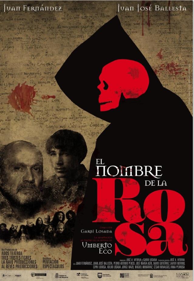 El nombre de la rosa, Teatro Nuevo Apolo