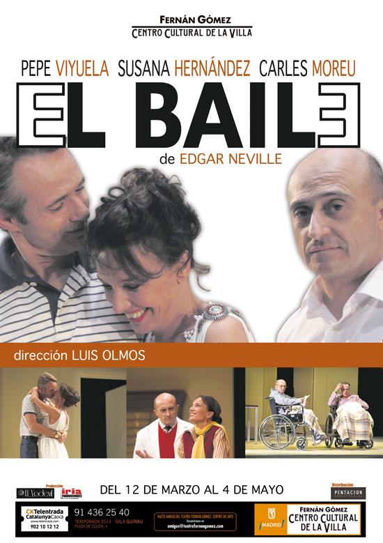 EL BAILE, de Edgar Neville. Teatro Fernán Gómez.