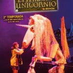 La leyenda del Unicornio – El musical, en el Teatro Cofidis