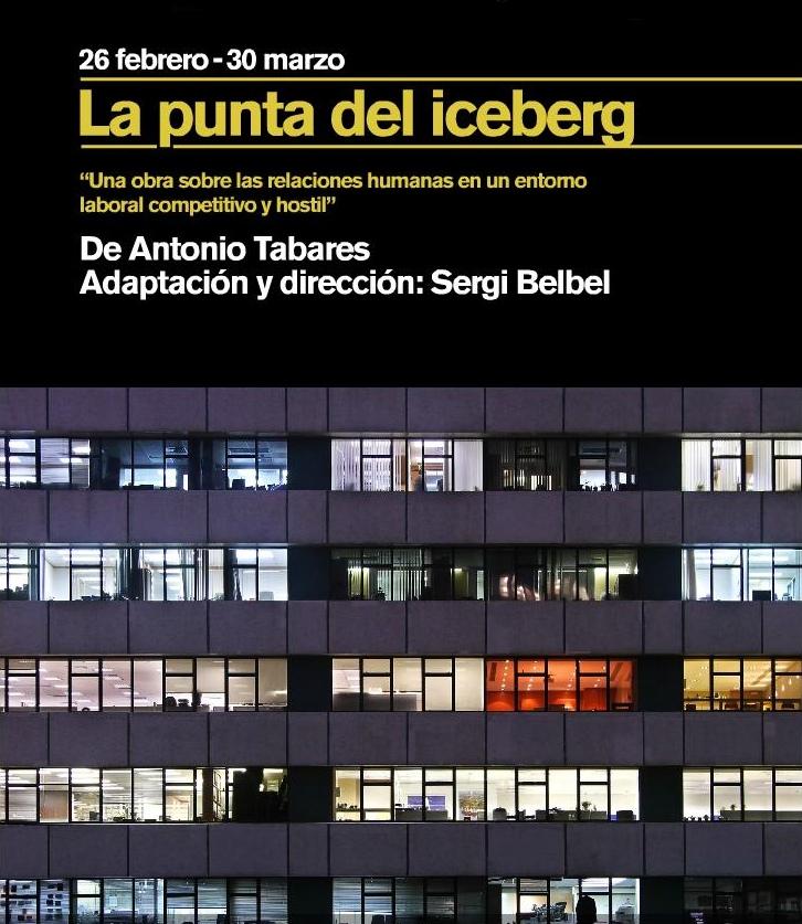 LA PUNTA DEL ICEBERG | Teatro de la Abadía