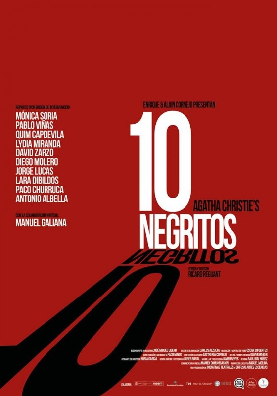 10 negritos teatro