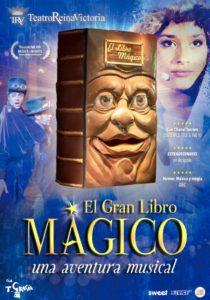 EL GRAN LIBRO MÁGICO en el Teatro Reina Victoria