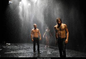 Lluvia catalana en Madrid
