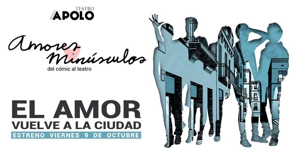 amores minusculos en el Teatro Nuevo Apolo