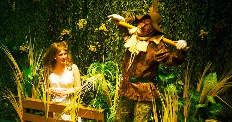 El mago de oz en el teatro pr ncipe gran v a madrid es Teatro principe gran via