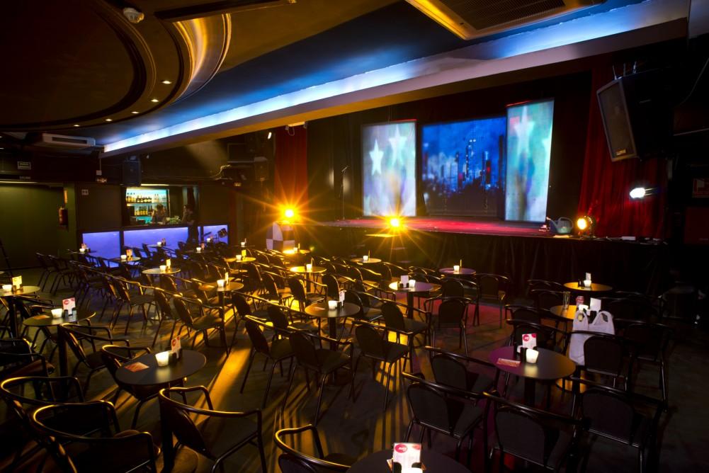 Interior del Teatro Alfil