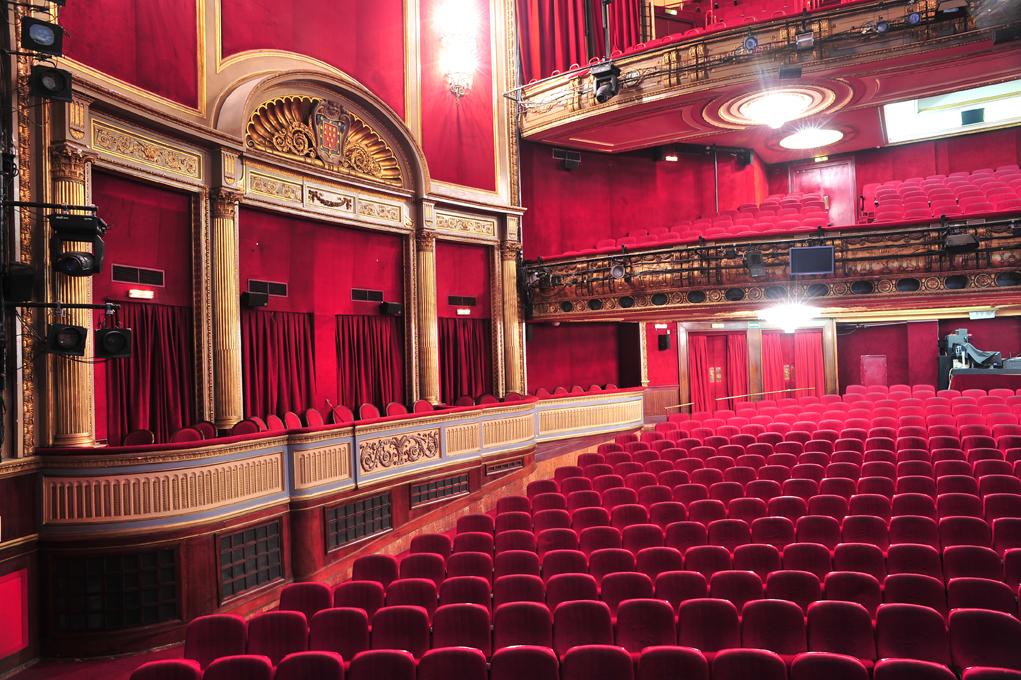 Patio de butacas del Teatro Lope de Vega