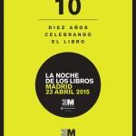 LA NOCHE DE LOS LIBROS 2015