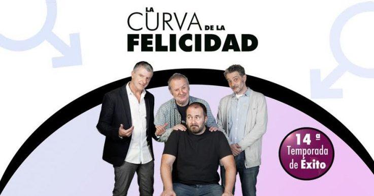 LA CURVA DE LA FELICIDAD en el Teatro Quevedo