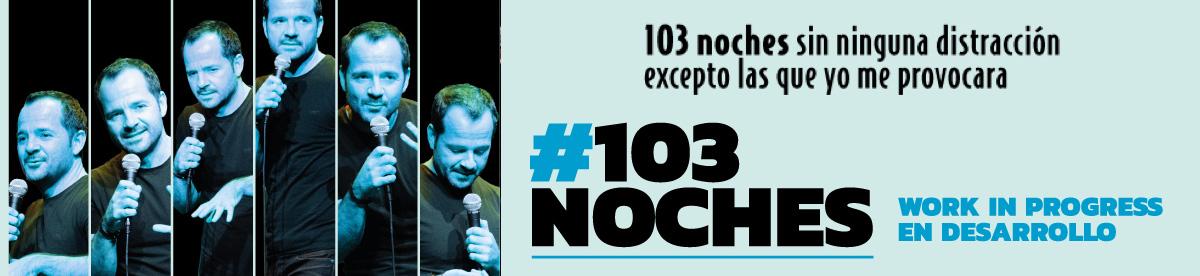 103 noches, banner