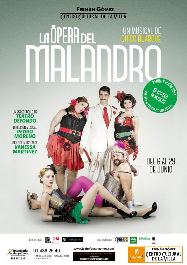 LA ÓPERA DEL MALANDRO en el Teatro Bellas ArtesLA ÓPERA DEL MALANDRO en el Teatro Bellas ArtesLA ÓPERA DEL MALANDRO en el Teatro Bellas Artes