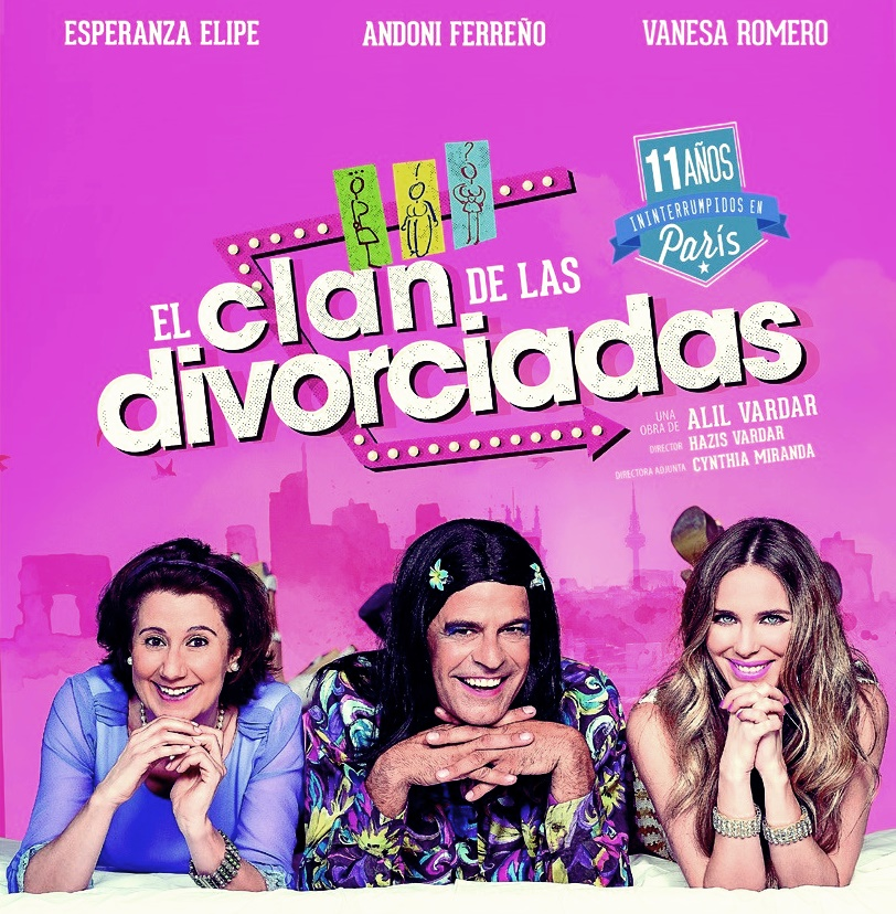 EL CLAN DE LAS DIVORCIADAS en el Teatro Muñoz Seca