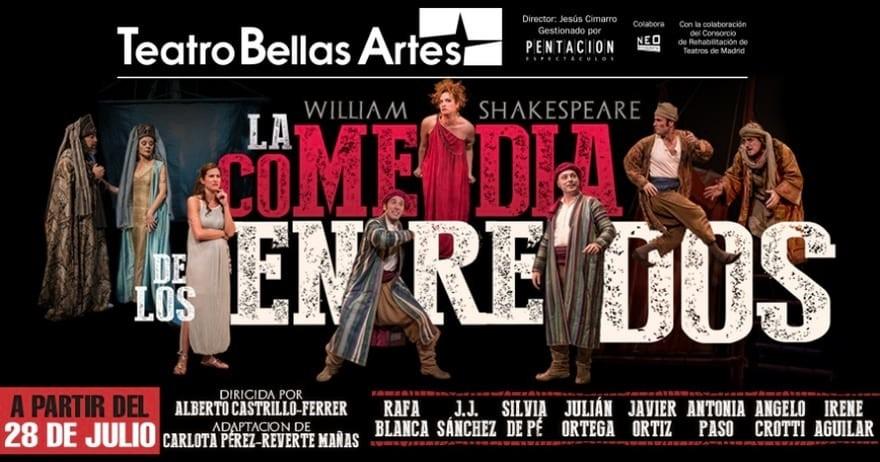 la comedia de los enredos en el teatro bellas artes