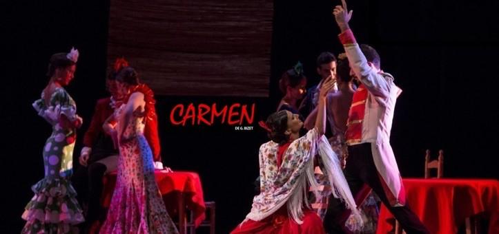 CARMEN DE BIZET – Ballet Flamenco de Madrid en el Teatro Capitol Gran Vía