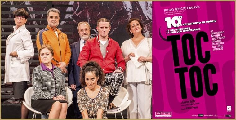 TOC TOC Teatro Príncipe Gran Vía