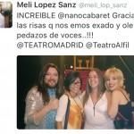 Opiniones de Nano Cabaret en el teatro Alfil