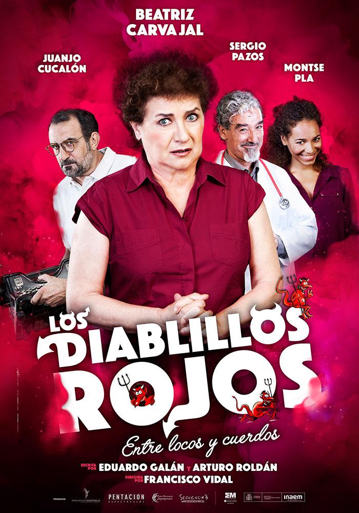 LOS DIABLILLOS ROJOS con Beatriz Carvajal en el Teatro Amaya