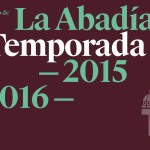 PROGRAMACIÓN Teatro de La Abadía 2016