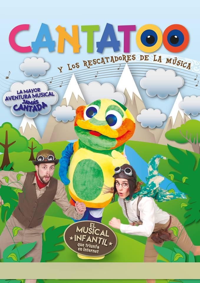 Cantatoo y los rescatadores de la música en el Teatro Galileo