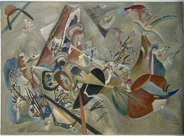 Im Grau (En gris) | Vasili Kandinsky