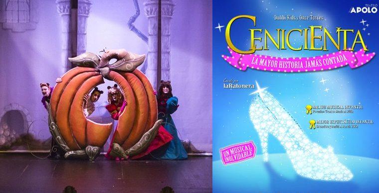 CENICIENTA La mayor historia jamás contada en el Teatro Nuevo Apolo