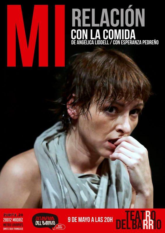 MI RELACIÓN CON LA COMIDA, de Angélica Liddell, en el Teatro del Barrio