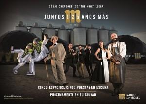Yllana crea un espectáculo para celebrar el 125 Aniversario de Mahou San Miguel