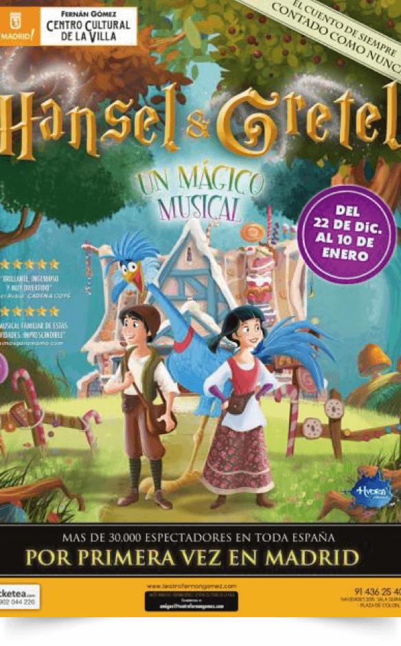 HANSEL Y GRETEL, Teatro Fernán Gómez
