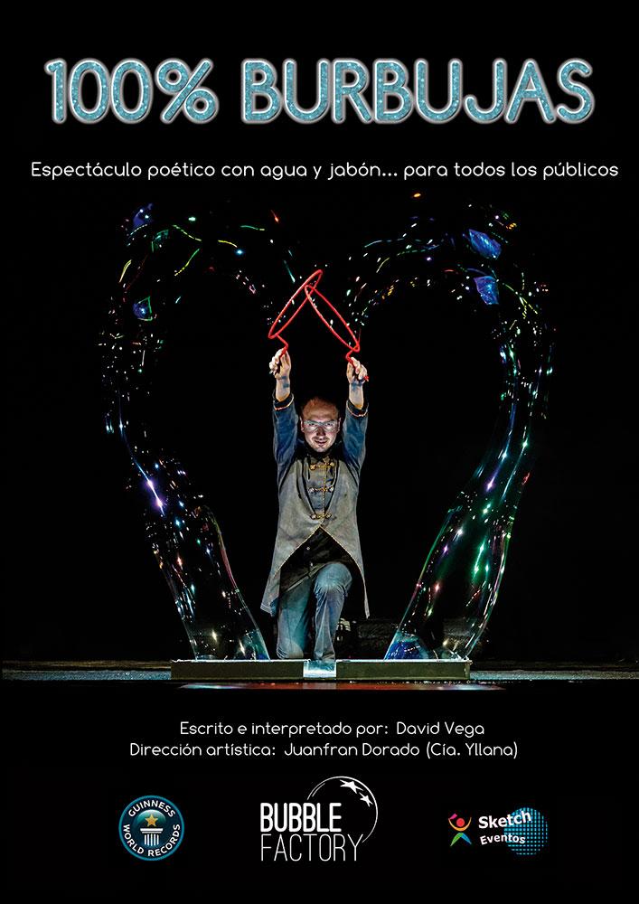 100% BURBUJAS en el Teatro Lara