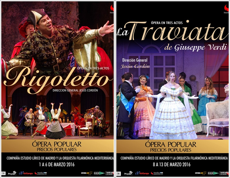 RIGOLETTO y LA TRAVIATA