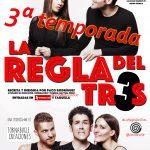 LA REGLA DEL TRES en el Teatro Azarte